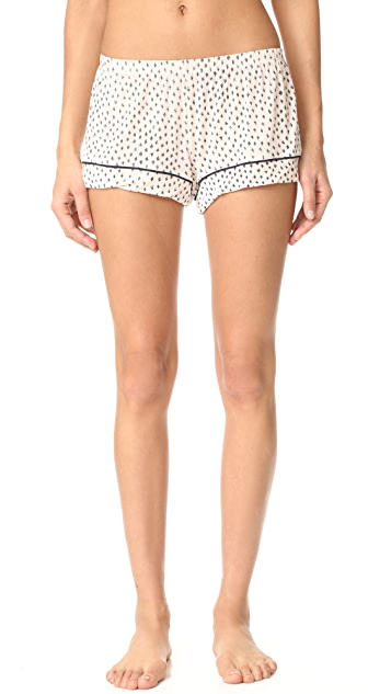 Eberjey Sketchy Sports Short PJ Set