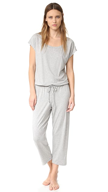 Eberjey Darby Cropped Jumpsuit