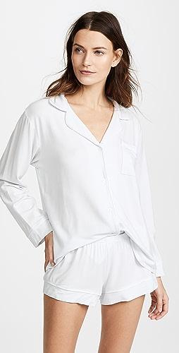 Eberjey - Gisele 长袖睡衣套装