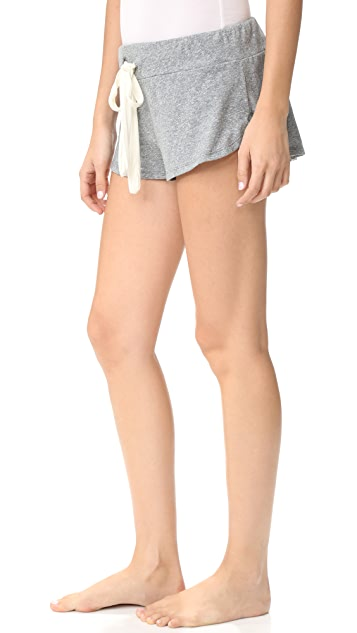 Eberjey Heather PJ Shorts