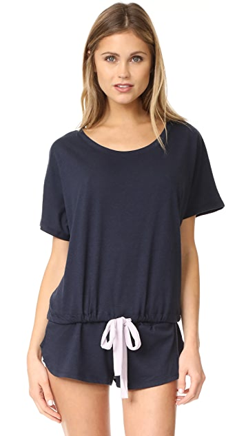 Eberjey Heather Short Sleeve Tee