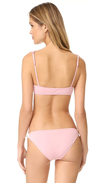 Eberjey So Solid Cassidy Bikini Top