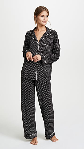 Eberjey Sleep Chic Long PJ Set