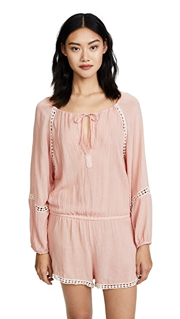 Eberjey Summer of Love Reed Romper