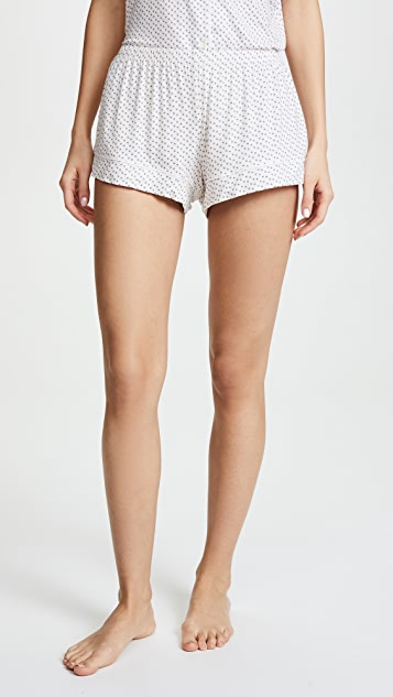 Eberjey Flora Ditsy Shorts PJ Set