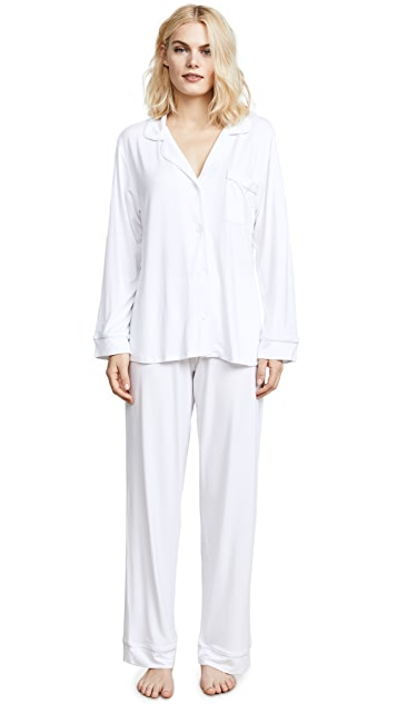 Eberjey Gisele PJ's Long PJ Set