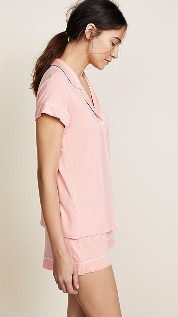 Eberjey Gisele Short Sleeve PJ Set