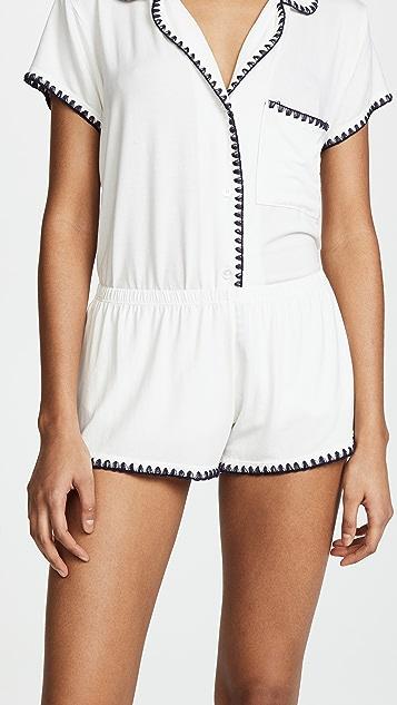 Eberjey Frida Shorts PJ Set