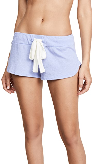 Eberjey Heather Track Shorts
