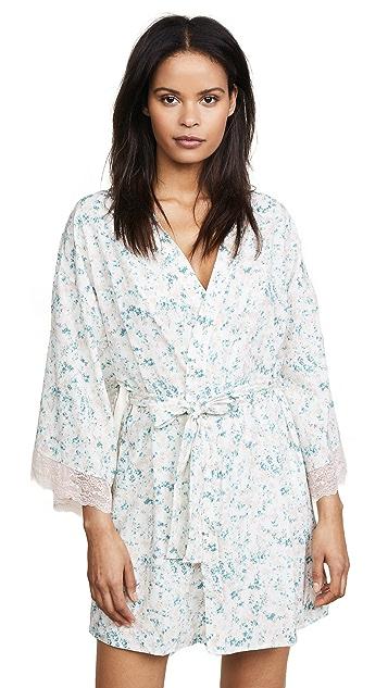 Eberjey x Rebecca Taylor Lily Kimono Robe