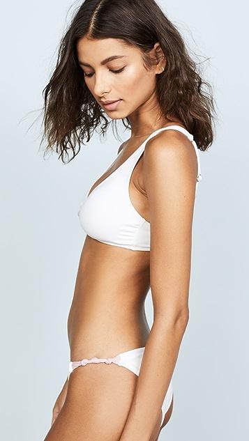 Eberjey So Solid Calysta Bikini Top