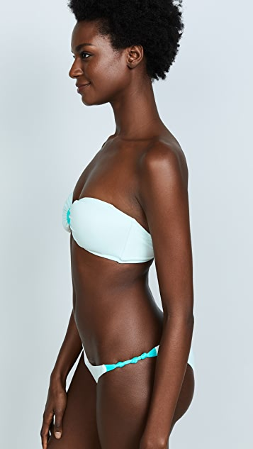 Eberjey So Solid Lulu Bikini Top