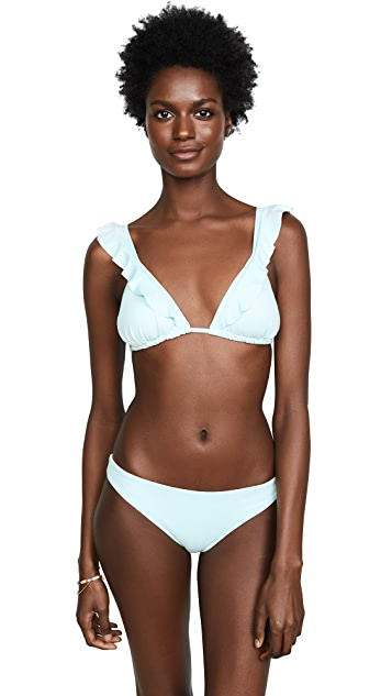 Eberjey So Solid Grayson Bikini Top