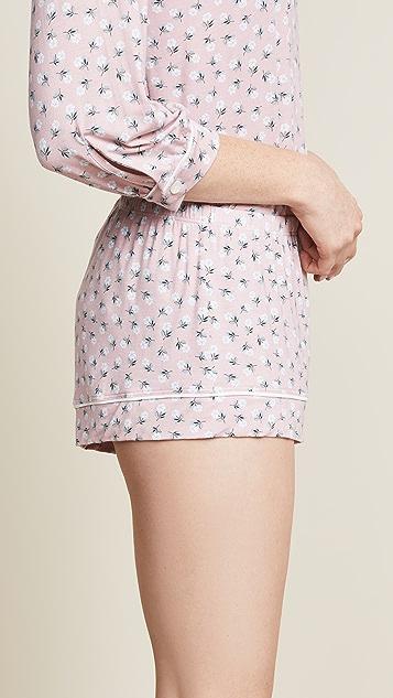 Eberjey Petite Fleur PJ Shorts