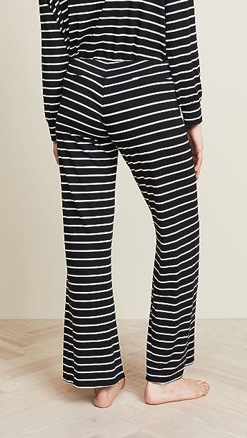 Eberjey Lounge Stripes PJ Pants