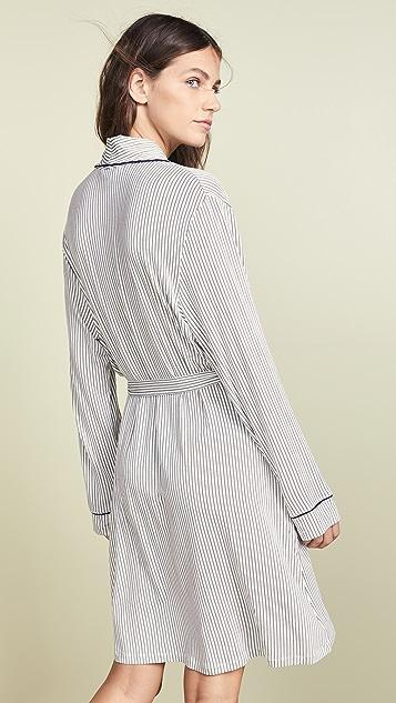 Eberjey Nordic Stripe Robe