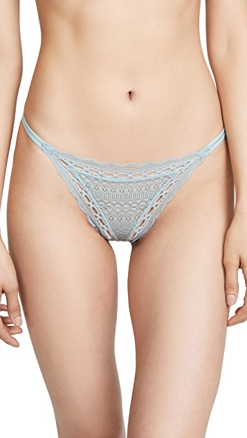 Eberjey Iris Double String Bikini Bottoms
