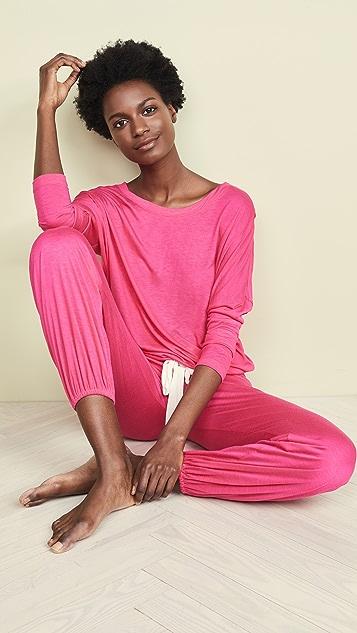 Eberjey Ina Slouchy Pajama Set
