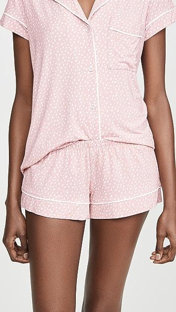Eberjey 时尚短裤睡衣套装