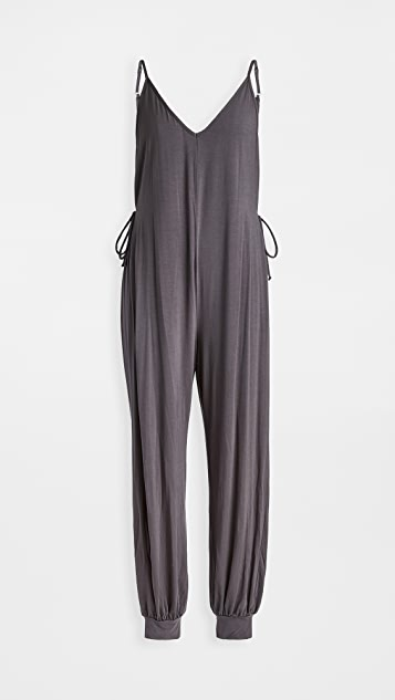 Eberjey Finley Knotted Jumpsuit