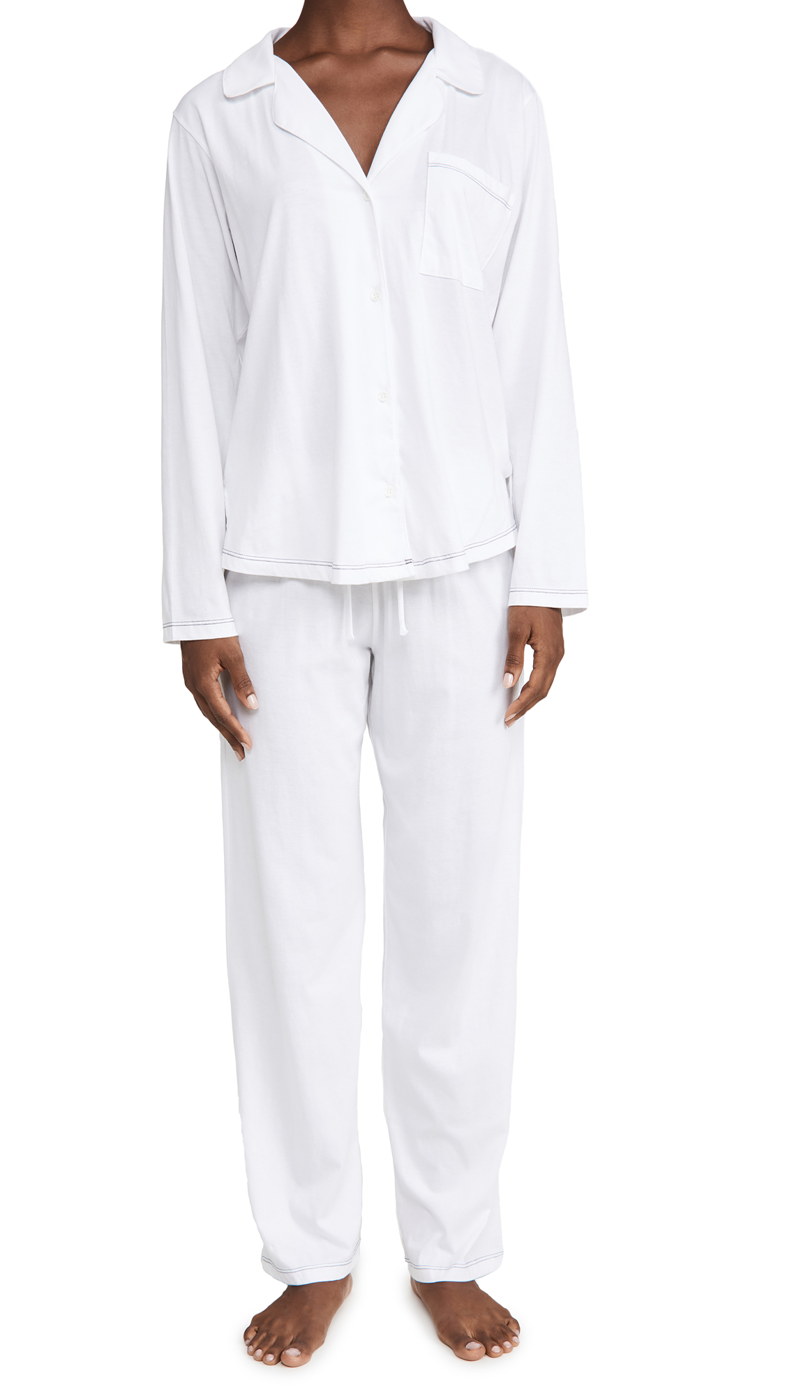 Eberjey Romy Everyday Long PJ Set