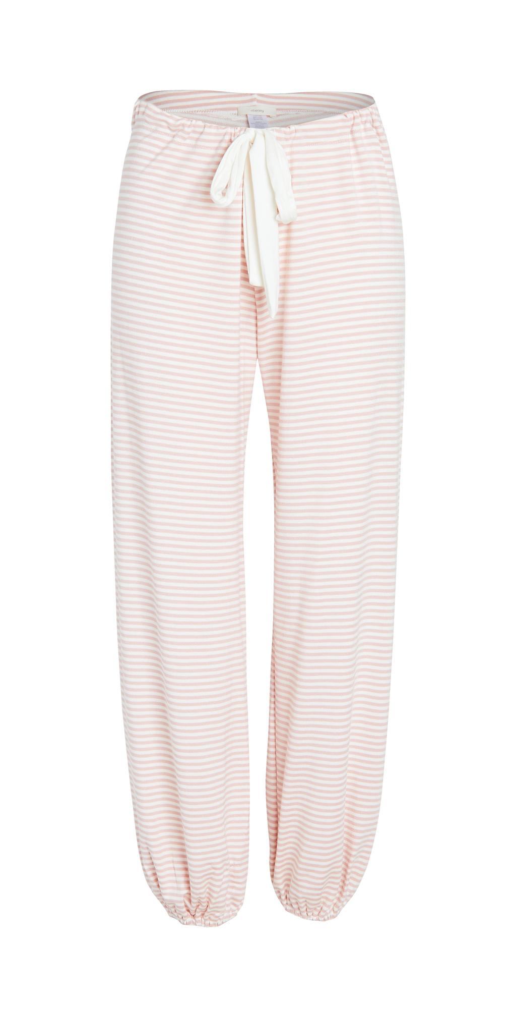 Eberjey The Sadie Stripes Cropped Pants