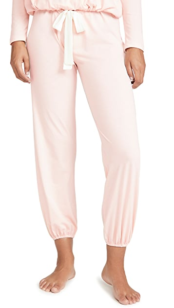 Eberjey Heather Cropped Pants