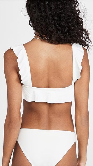 Eberjey So Solid Jane Bikini Top