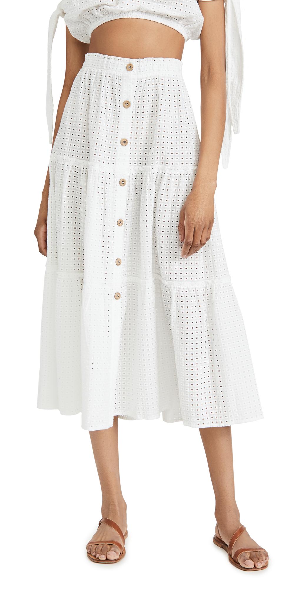 Eberjey Portola Nolita Cover Up Skirt