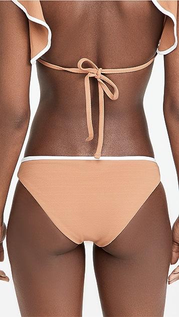 Eberjey Annia Pique Bikini Bottoms