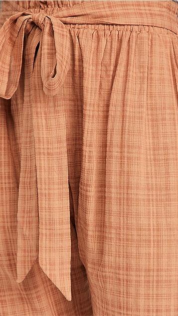 Eberjey Strata Solid Hudson 长裤