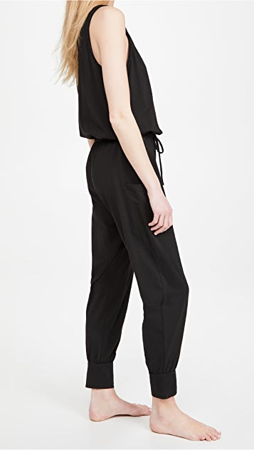 Eberjey The Brie Cargo Jumpsuit