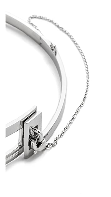 Eddie Borgo Division Choker Necklace