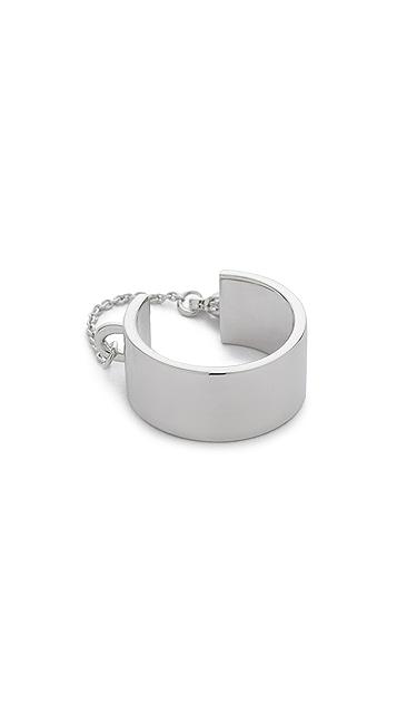 Eddie Borgo Safety Chain Ring
