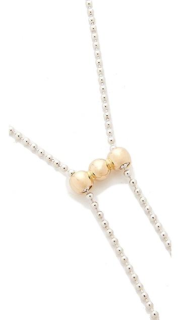 Eddie Borgo Bolo Ball Chain Necklace