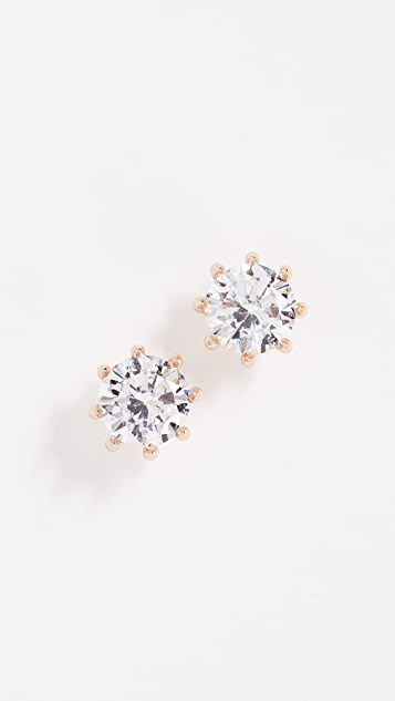 Eddie Borgo Circle Estate Earrings