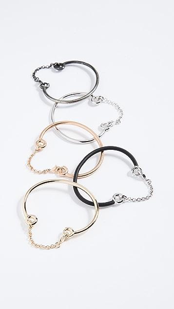 Eddie Borgo Stacker Chain Cuff Set