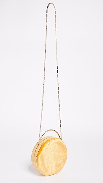Eddie Borgo Chet Minaudiere Circle Cross Body Bag