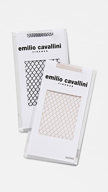 Emilio Cavallini Fishnet Sock Set