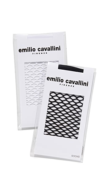 Emilio Cavallini Large Fishnet Sock Set