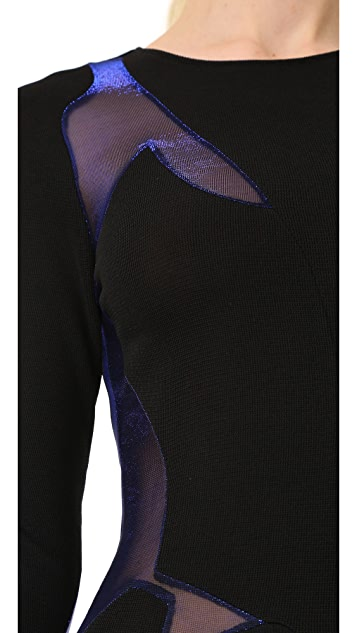 Esteban Cortazar Long Sleeve Dress