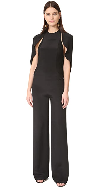 Esteban Cortazar Jumpsuit with Cape
