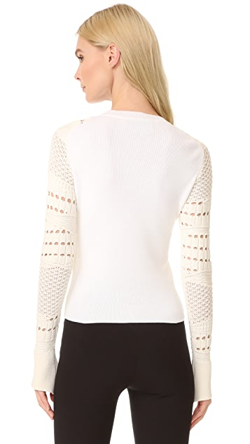 Esteban Cortazar Crochet Sweater