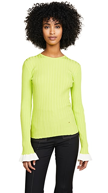 Esteban Cortazar Crew Neck Sweater