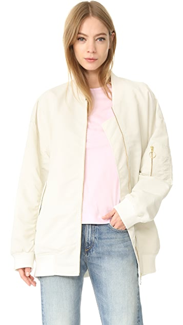 Edition10 Oversized Bomber Jacket