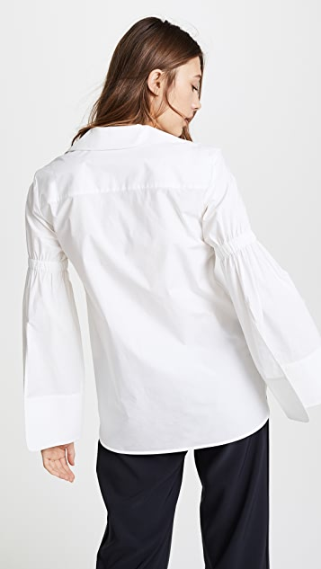 Edition10 Pagoda Sleeve Shirt