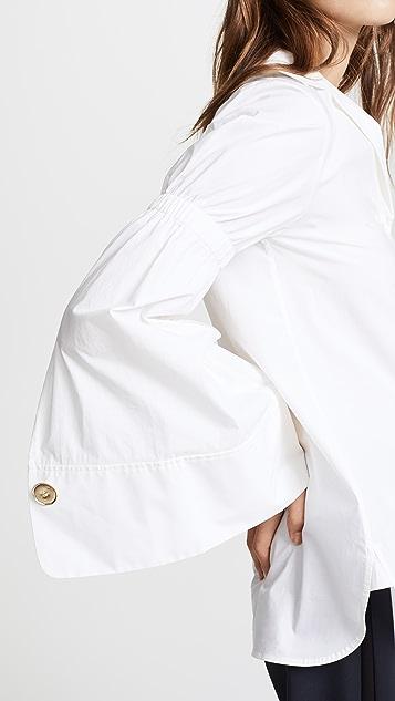 Edition10 Pagoda Sleeve Shirt