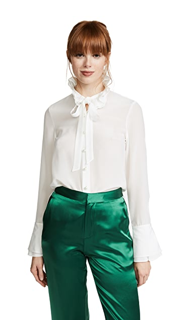 Edition10 Ruffled Blouse