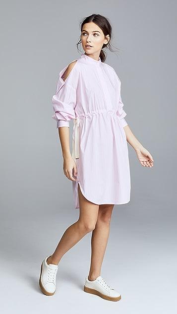 Edition10 Oversized Cold Shoulder Dress