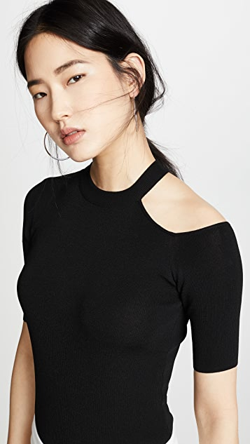 Edition10 Cold Shoulder Pullover
